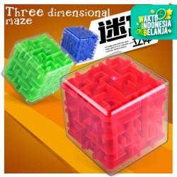 MB11 Mainan Transparan 3D Tomb Stereo Maze Pinball 21C