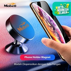 Mobeo New Phone Holder Magnet Dudukan Magnet HP Model AC Mobil / Stand