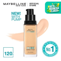 Maybelline Matte Foundation Fit Me Pump Matte Pore