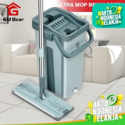 GM Bear Alat Pel Praktis Hijau Medium 1139-Ultra Mop Briny Green