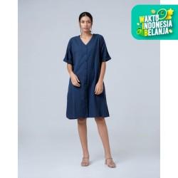 THIS IS APRIL - Minka Dress Navy - 773715