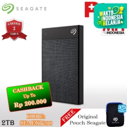 Seagate Backup Plus Ultra Touch Hardisk Eksternal 2TB USB3.0 + Pouch