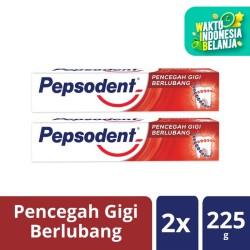 Pepsodent Pasta Gigi White 225G Twin Pack