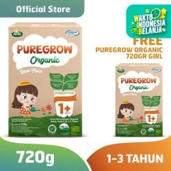 Buy 1 Get 1 PUREGROW Organic-Susu Formula Organik 1-3 Tahun 720gr Girl