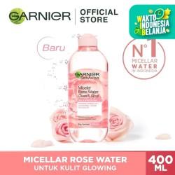 Garnier Micellar Water Rose Cleanse & Glow 400ml