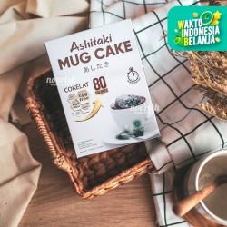Ashitaki Mug Cake Cokelat 210gr (5 x 42 gram) Gluten Free