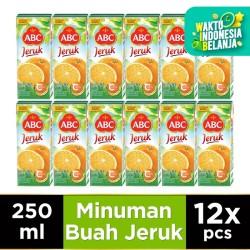 ABC Jus Jeruk 250 ml - Multipack 12 pcs