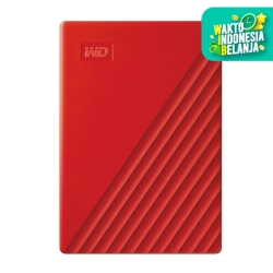 WD My Passport 1TB Merah - HD HDD Hardisk Eksternal External 2.5""