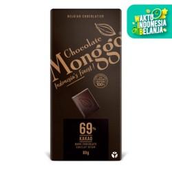 Monggo Chocolate - Dark 69% Tablet 80gr