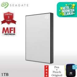 Seagate New Backup Plus Slim Hardisk Eksternal 1TB USB3.0 PCPN [FS]