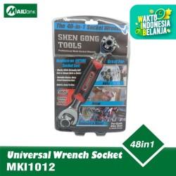 Kunci Pas 48 in 1 Universal Wrench Socket Wrench Junsky