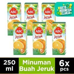 ABC Jus Jeruk 250 ml - Multipack 6 pcs