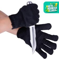 Sarung Tangan Anti Pisau Tajam Potong Gores Bacok Begal Anti Cut Glove