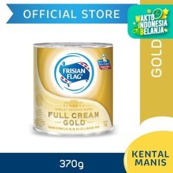 Frisian Flag Bendera Kental Manis Full Cream Gold Kaleng 370g