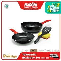 Maxim New Prestige Wajan Masak 4pcs Set