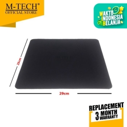 Original Mousepad Polos Lebar Hitam