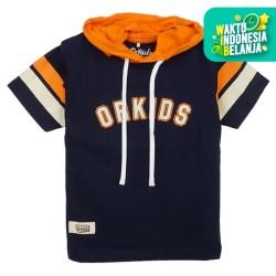 ORKIDS Baju Kaos Anak Spot / Navy