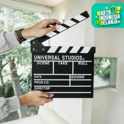 Otangale | clapper board papan sutradara hiasan hitam action film unik