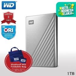 WD My Passport Ultra 1TB - HD HDD Hardisk Eksternal External 2.5""