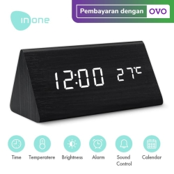INONE Alarm Led Digital ET-511 Dengan Kontrol Suara - Hitam