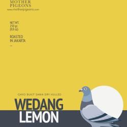 Wedang Lemon (Gayo Bukit Sama Dry Hulled)