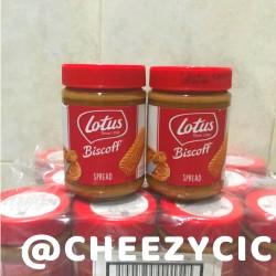 Lotus biscoff spread original / smooth 400 gram