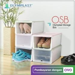 OLYMPLAST STORAGE BOX - KOTAK SEPATU
