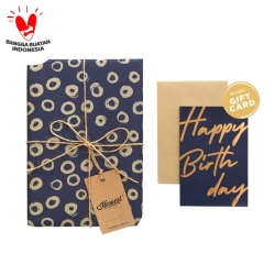 Paket Kertas Kado & Kartu Harvest Gift Set - Amazing Ring