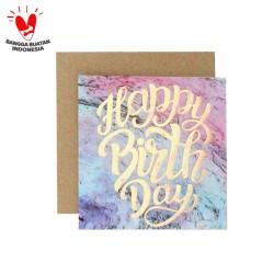 Kartu Ucapan / Blank Card Harvest Magic Wishes - Birthday