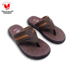 Sandal Anak Laki-laki Fit To Feet Agam - Coklat Kombinasi