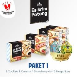 PAKET 1 - ES KRIM POTONG CAMPINA FREE COOLER BAG