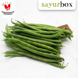 Buncis Conventional 250 gram Sayurbox