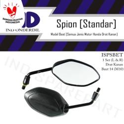 Spion-Kaca Kiri-Kanan Standar-Standart Set Honda Beat-FI/Scoopy-F1-New