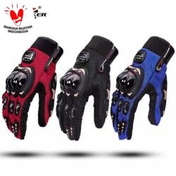 Sarung Tangan Gloves Pro Biker Full Finger