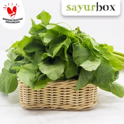 Bayam Hijau Conventional 250 gram Sayurbox