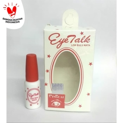 Lem bulumata Eye Talk (perekat glam eye bulu mata)