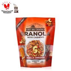 East Bali Cashews Granola Rosella Cinnamon 400gr