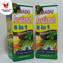 Madu Assalamah 8 in 1 Obat Batuk / Flu / Demam / Stamina