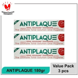 Antiplaque 180gram paket 3pcs