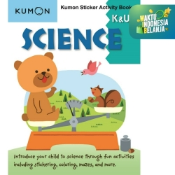 Buku Anak - Kumon - Science K & Up Sticker Activity Book