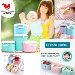 KOTAK TEMPAT PENYIMPANAN SUSU BUBUK Makanan Bayi Sealed Baby Mik