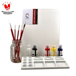 BASIC Painting Kit (Set Alat Lukis)