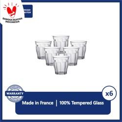 Duralex Gelas Kopi Picardie 220 ml - Set Of 6