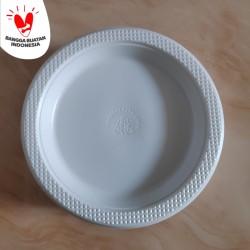 Piring Plastik Sedang P7 isi 50 pcs - Piring makan