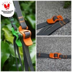 tali pengikat strap webbing nylon dengan kepala buckle besi
