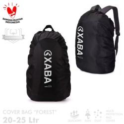 XABA Cover Bag FOREST 20-25 Liter - Penutup Tas - Rain Cover