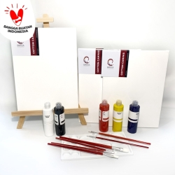 DELUXE Painting Kit (Set Alat Lukis)