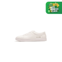 gio cardin low ankle triple white