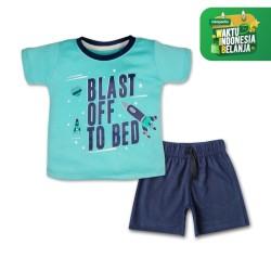 Bearhug Setelan Bayi Laki-laki Blast off XUF4 6-18Bulan