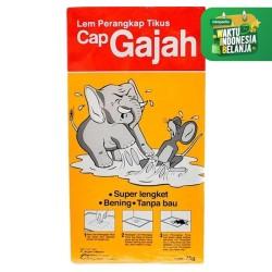 Lem Tikus Cap Gajah / Jebakan Tikus / Perangkap Tikus / Buku / Papan